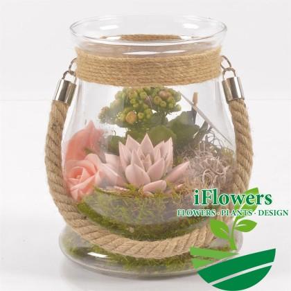 Флорариум ваза кувшин