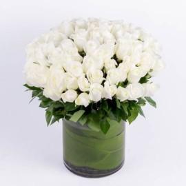 101 Белых роз