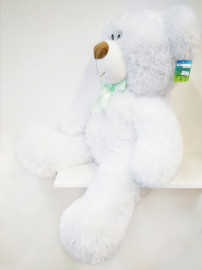 Белый медвежонок_85см