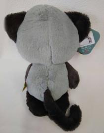 Мишка серый с черным