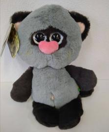 Мишка серый с черным (26см)